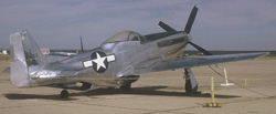 P-51 Mustang on display at Webb AFB in 1969