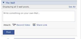My Facebook Wall