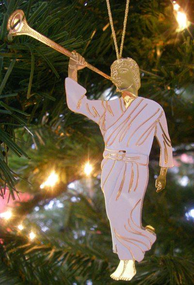 Angel Moroni on my Living Christ Christmas Tree