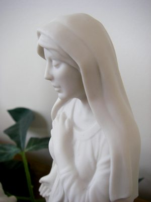 Mary, the mother of Jesus, in my nativity set