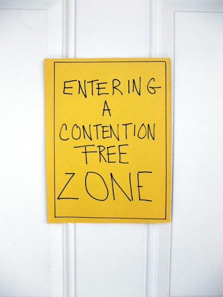 Contention Free Zonel