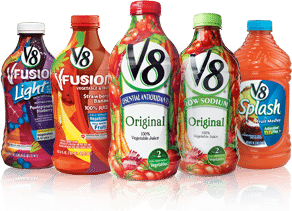 V8 products