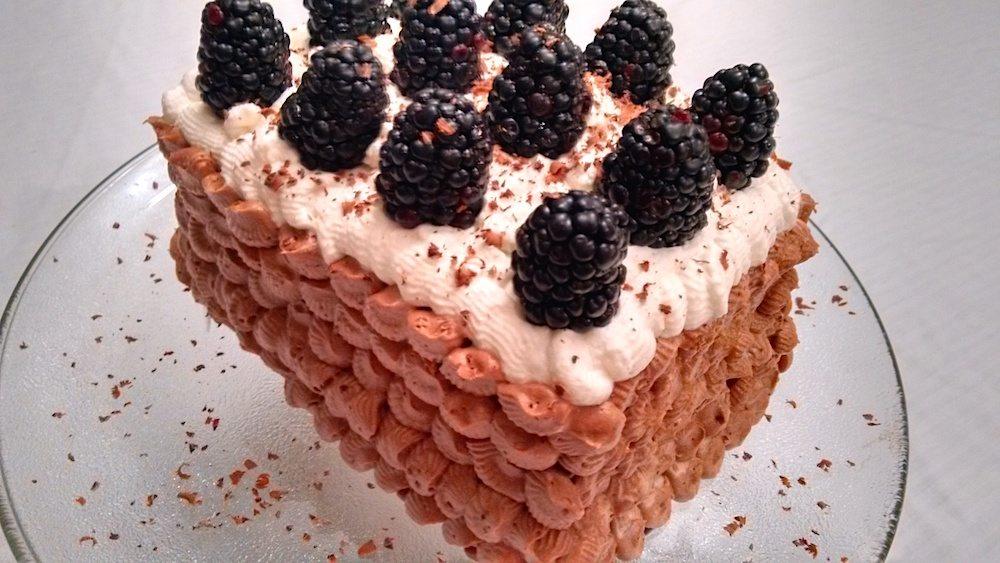 Chocolate Hazlenut Torte