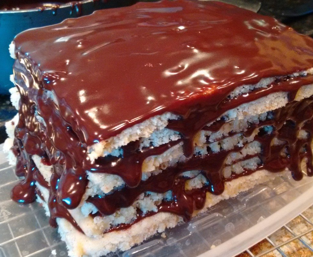 Layers Spread with Glaze